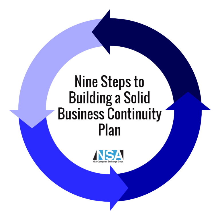 Nine Steps to Building a Solid Business Continuity Plan