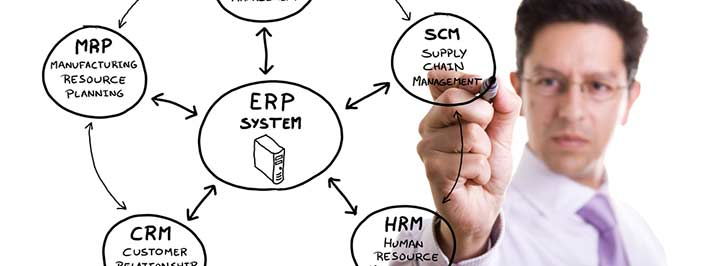 ERP Software with CRM