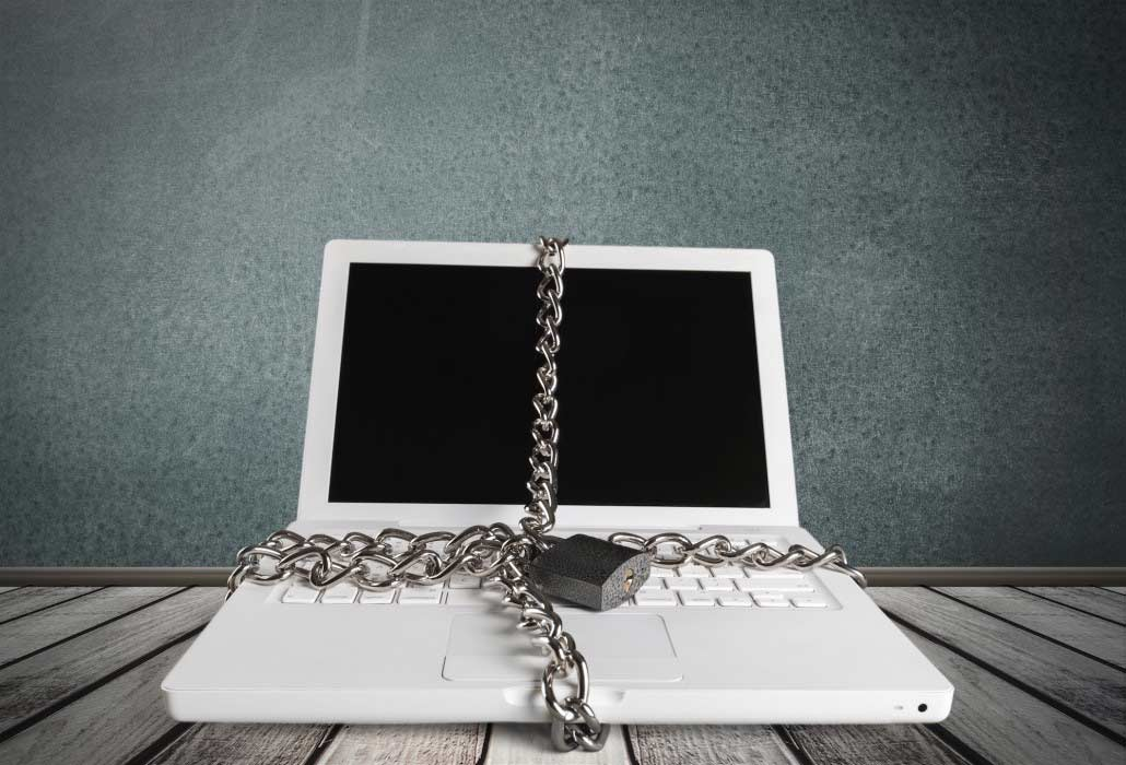 ransomware computer locked up