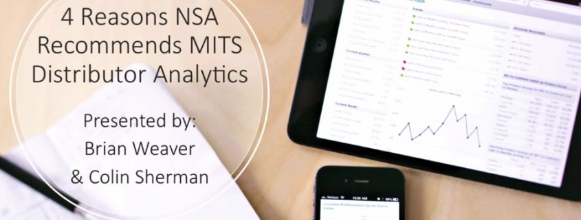 4 Reasons NSA Recommends MITS Distributor Analytics for SX.e