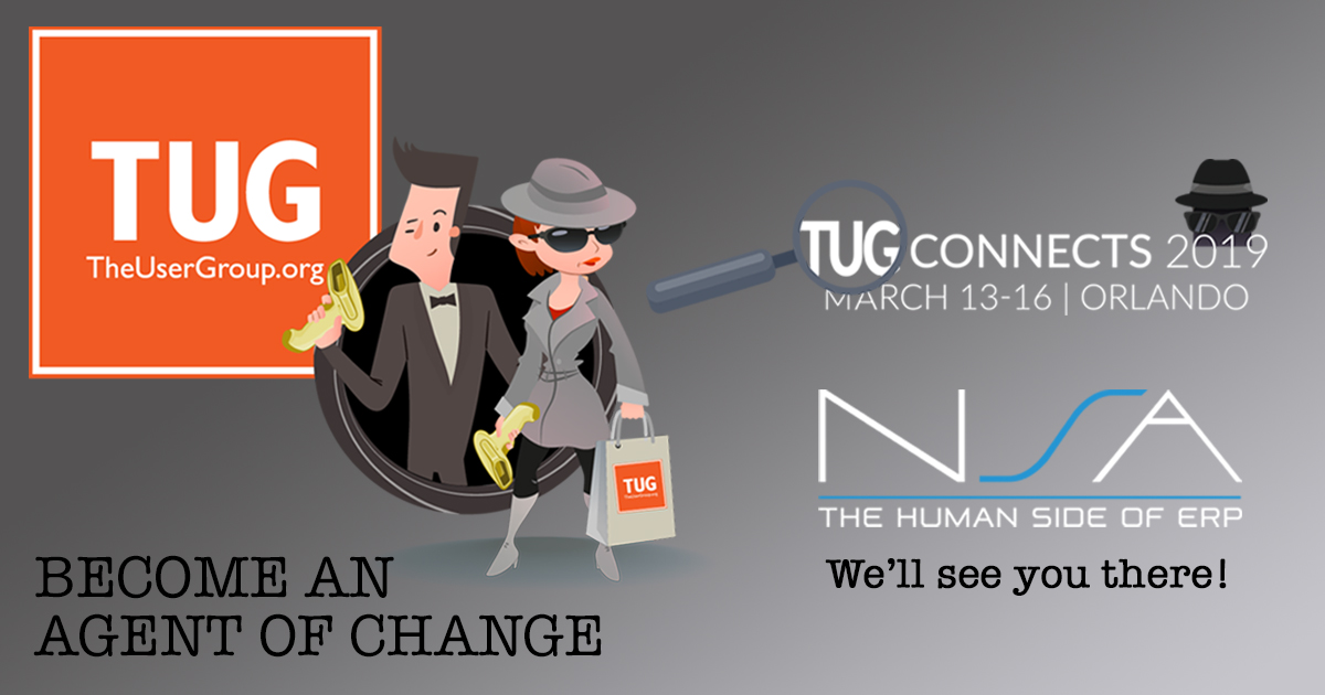 Preparing for TUG Connects 2019