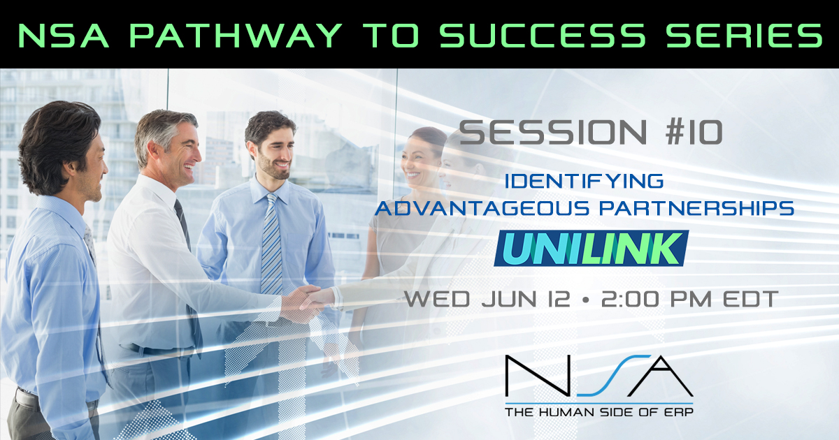 Pathway to Success Professional Services Series #10 with UniLink