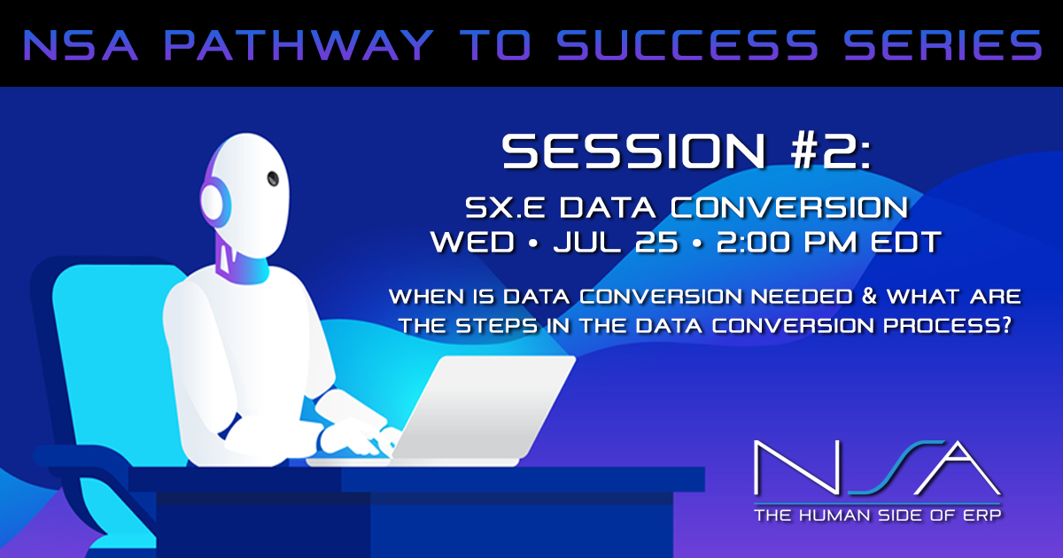 Pathway to Success Series #2: Data Conversion
