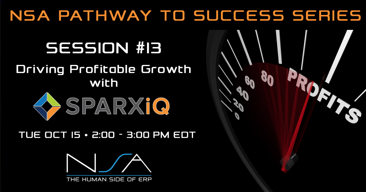 Pathway to Professional Services Series #13 with SPARXiQ