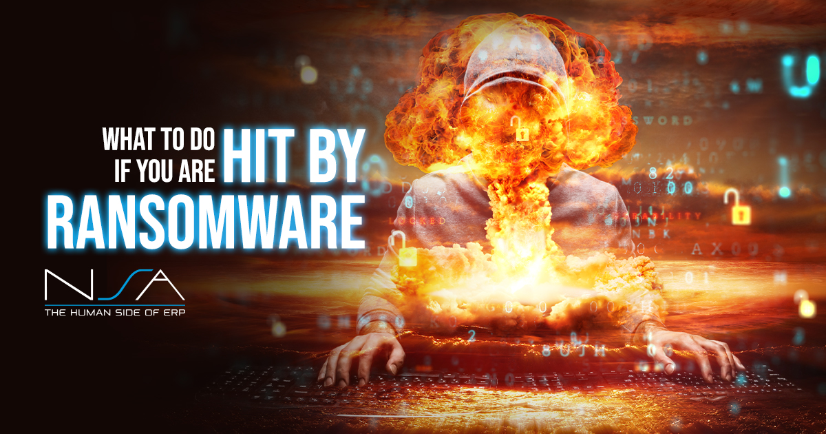 Ransomware Fire Image